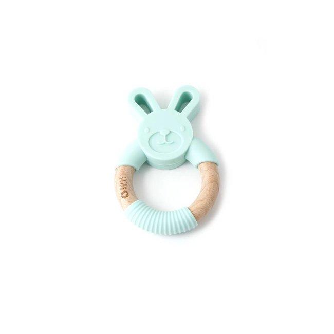 Bulle Bijouterie Bulle Bijouterie - Chew Rattle, Mint Rabbit