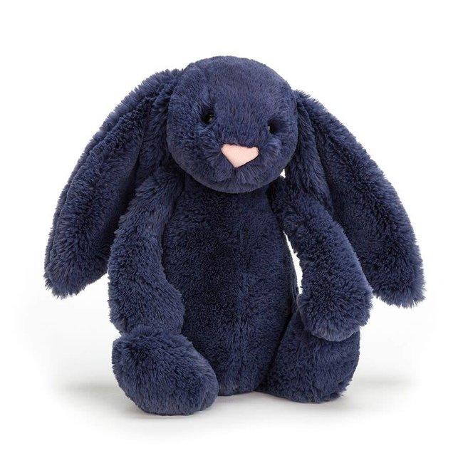 Jellycat Jellycat - Bashful Bunny, Navy 12''