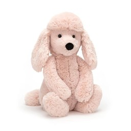Jellycat Jellycat - Caniche Rose Bashful 7''/Blush Poodle Bashful 7''