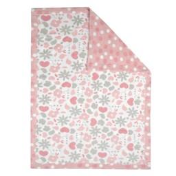 Perlimpinpin Perlimpinpin - Couverture en Peluche/Soft Blanket, Jardin/Garden