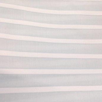 Bouton Jaune Bouton Jaune - Housse de Couette Lit de Bébé, Brise de Mer/Brise de Mer Crib Duvet Cover, Bleu et Blanc/Blue and White