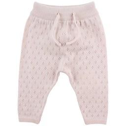 Fixoni Fixoni - Pantalon Tricot Hush/Hush Knit Pants, Rose Doux/Soft Rose