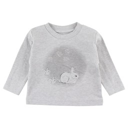 Fixoni Fixoni - Chandail Manches Longues Hush/Hush Long Sleeves T-Shirt, Gris Mélange/Grey Melange