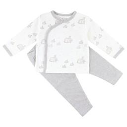 Fixoni Fixoni - Pyjama Hush/ Hush Nightset, Blanc Cassé/Off White