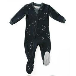 Zippy Jamz Zippy Jamz - Pyjama à Pattes/Footie, Galaxie Love Marine/Navy