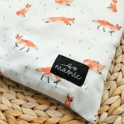 Maovic Maovic - Oreiller de Sarrasin/Buckwheat Pillow, Renards/Foxes