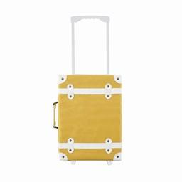 Olli Ella Olli Ella - Valise à Roulette See-ya/See-ya Suitcase, Moutard/Mustard