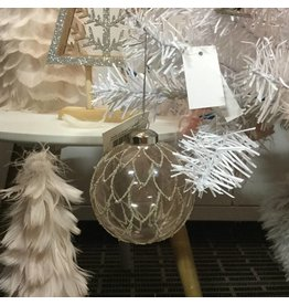 PALE PINK FEATHERS ORNAMENT