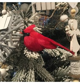 BIRD ORNAMENT WITH CLIP