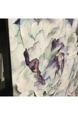 BLUE/MAUVE FLOWERS PAINTING