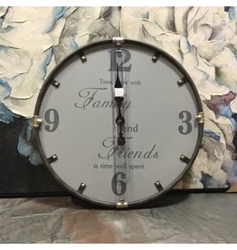 FAMILY AND FRIENDS WALL CLOCK