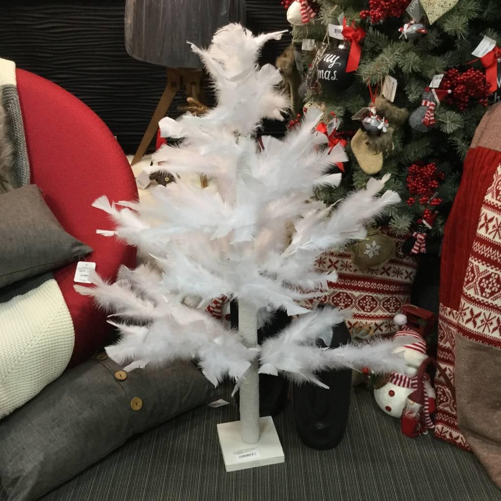 WHITE FEATHERS TREE