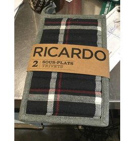 SOUS-PLATS RICARDO ENSEMBLE DE 2