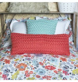 CORAL DOROTHY  LONG PILLOW
