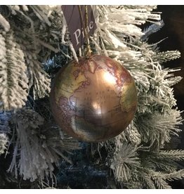 EARTH GLOBE ORNAMENT