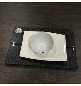 FAUX LEATHER PLACEMATS SET OF 4