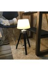 LAMPE TREPIED NOIR
