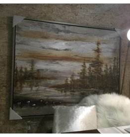 DUSK FRAMED PAINTING