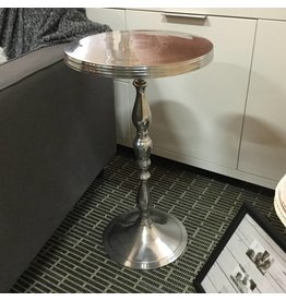 TRADITIONNAL METAL SIDE TABLE