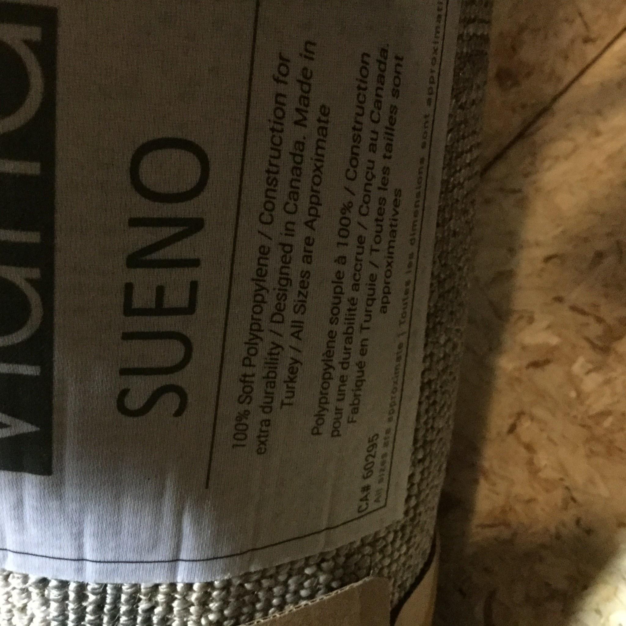 TAPIS SUENO REFLETS GRIS
