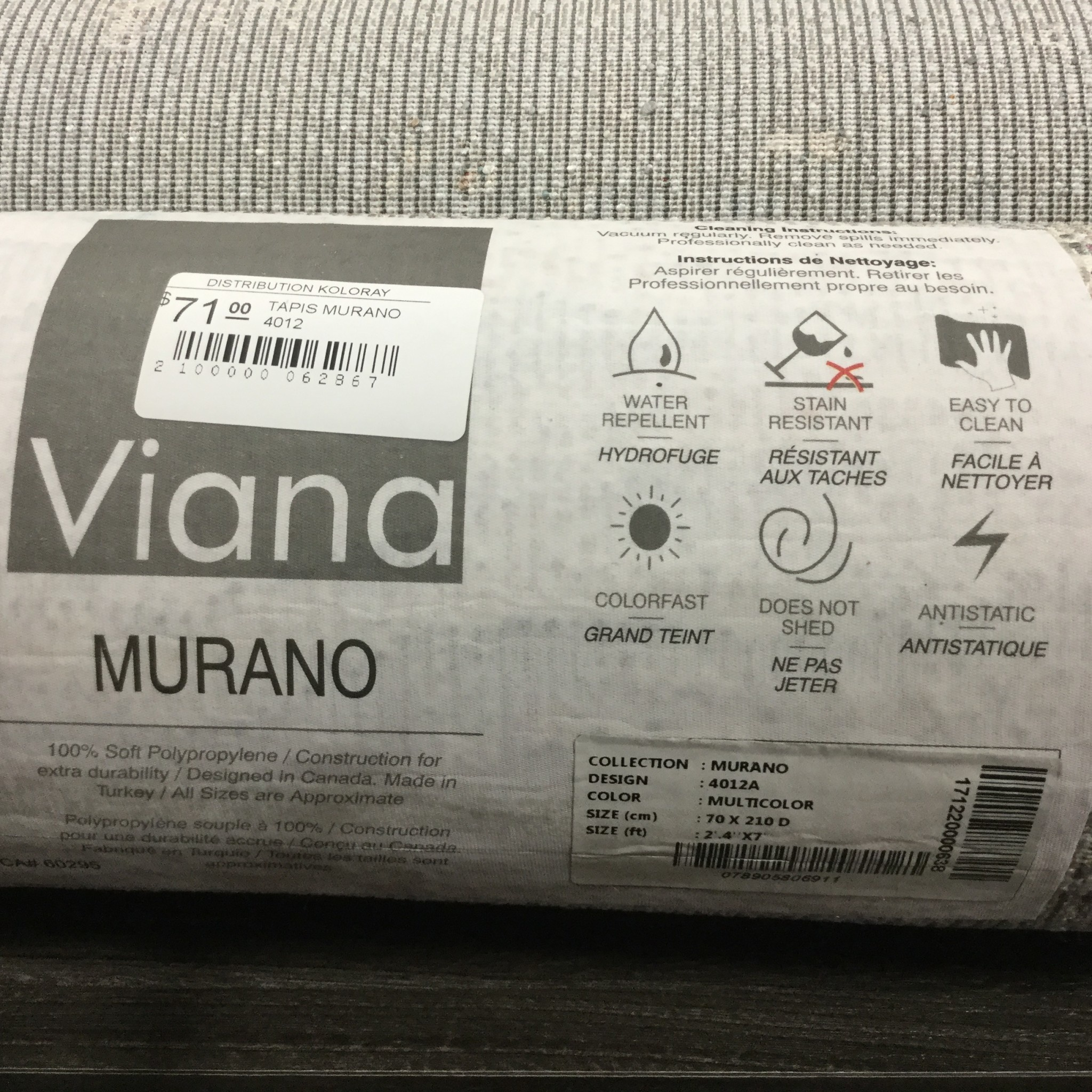 MURANO UNDULATIONS RUG
