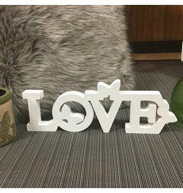 """LOVE"" AVEC PAPILLONS"