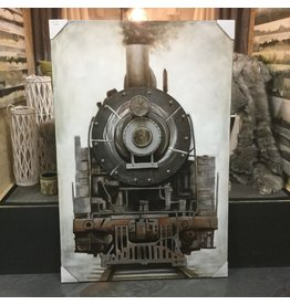 FULL STEAM AHEAD WALL ART