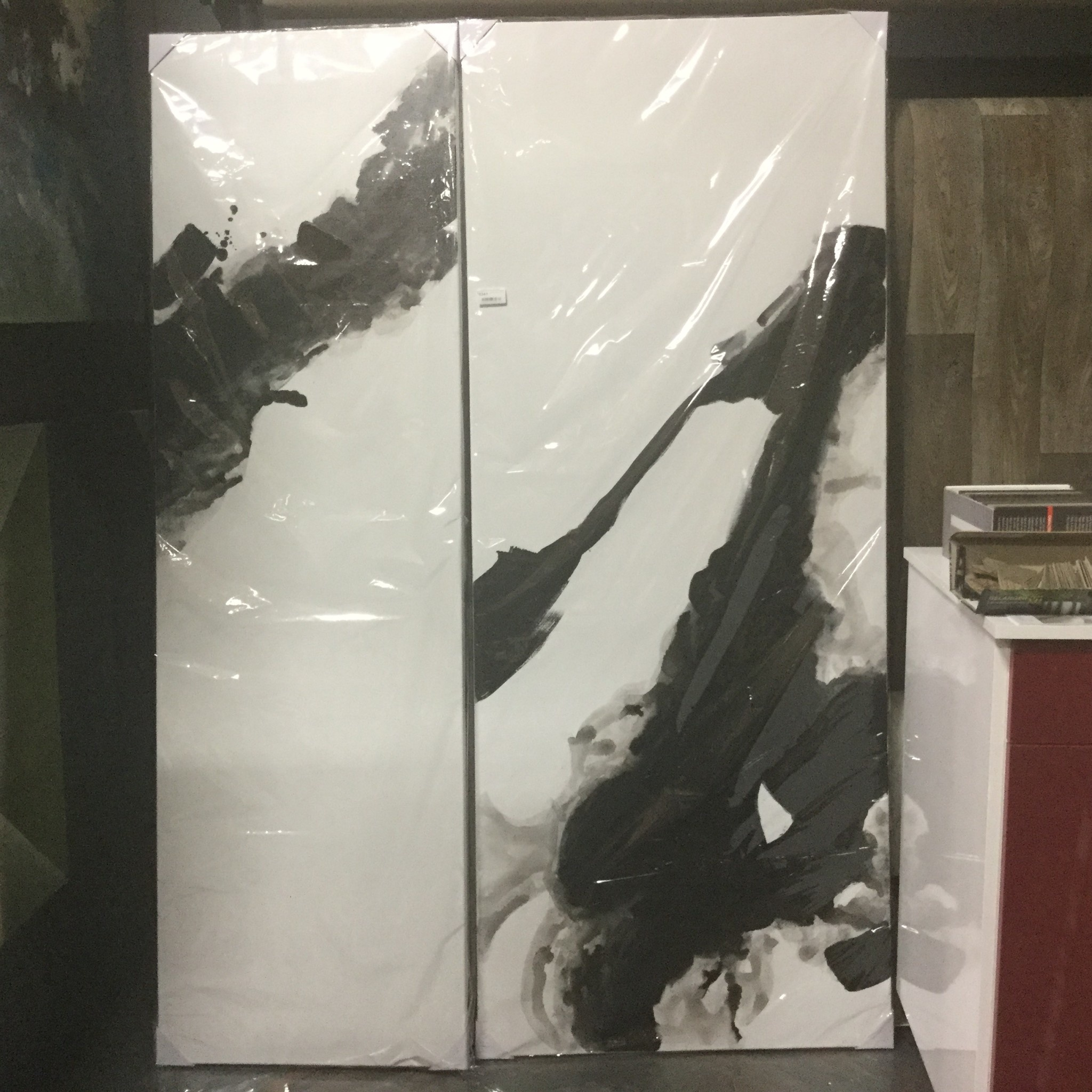 RORSCHACH SET OF PAINTINGS