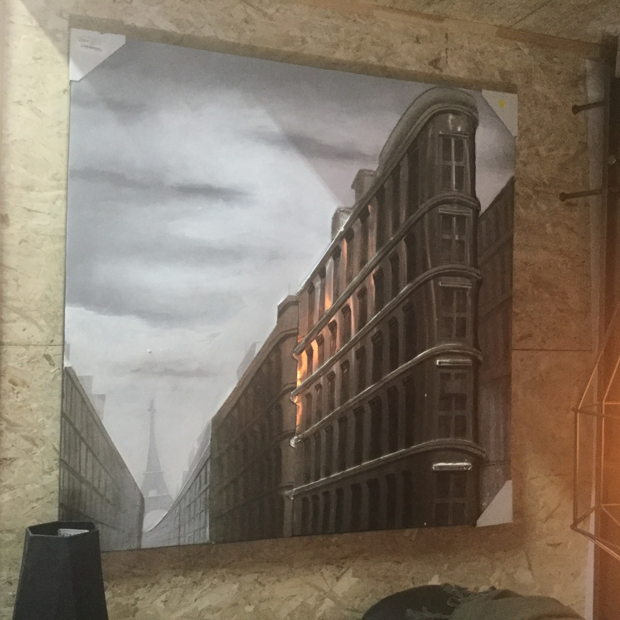 PARIS PERSPECTIVE WALL ART