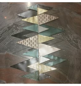 TRIANGLES WALL SCULPTURE