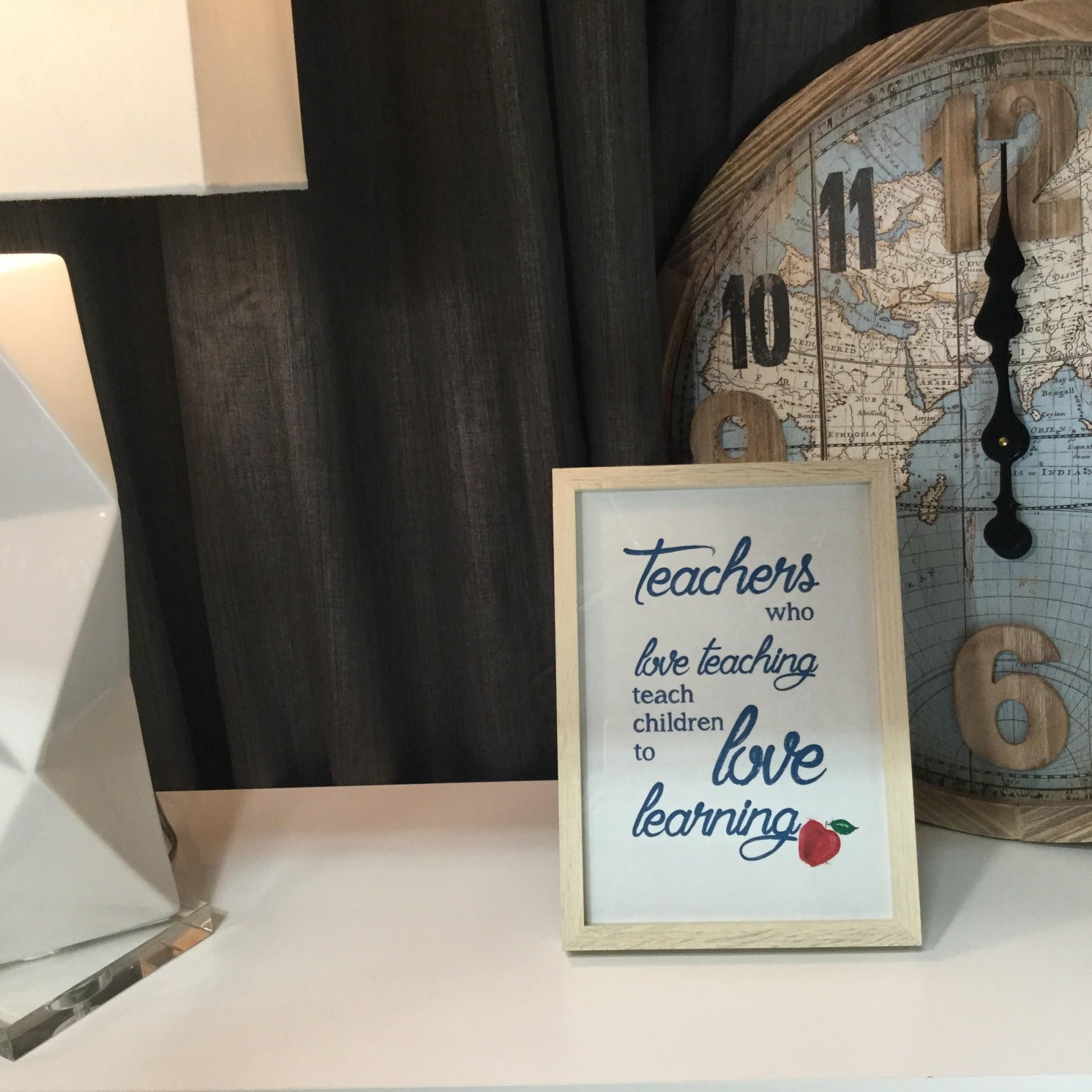 TEACHERS FRAMED GIFT
