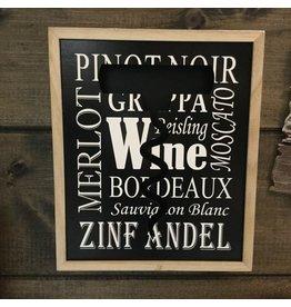 WINE TYPES CORKS BOX