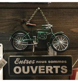 AFFICHE BICYCLETTE OUVERT/FERMÉ