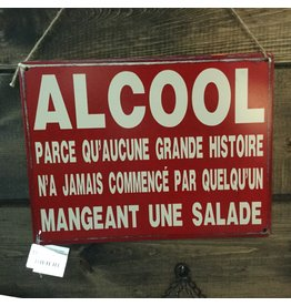 AFFICHE HUMORISTIQUE ALCOOL