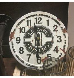 LE CAFÉ WALL CLOCK