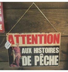 AFFICHE HISTOIRES DE PÊCHE