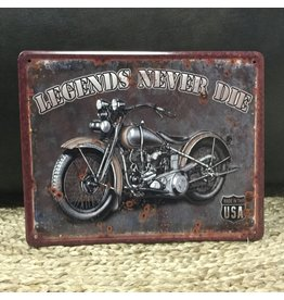 LEGENDS NEVER DIE PLAQUE