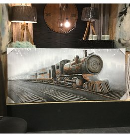 DOWNTOWN TRAIN ART MURAL