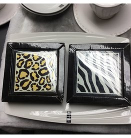 ANIMAL PRINTS COASTERS