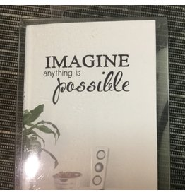 IMAGINE AUTOCOLLANT MURAL