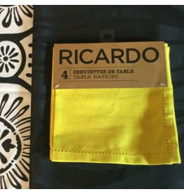 SERVIETTES DE TABLE RICARDO ENSEMBLE DE 4