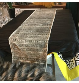 PRINTED COTTON TABLE RUNNER