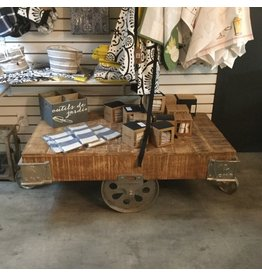 CART COFFEE TABLE