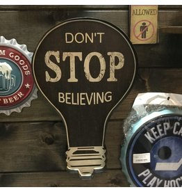 BELIEVING PLAQUE MURALE