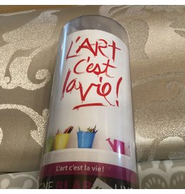 L'ART C'EST LA VIE WALL DECAL