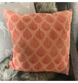 PINK JACQUARD CUSHION