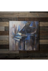 ABSTRACT PIANO WALL ART