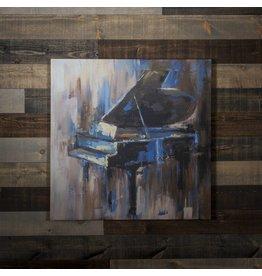 TOILE PIANO ABSTRAIT