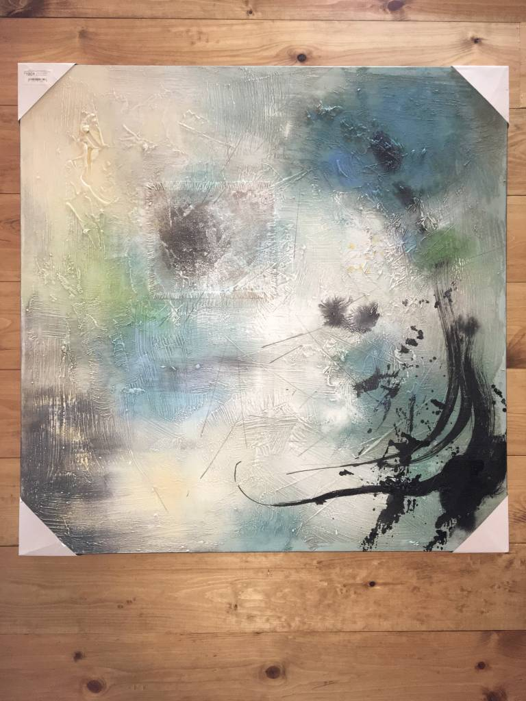 BLUE BLOOM WALL ART