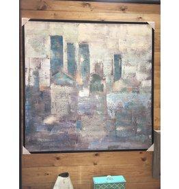 FADED CITY WALL ART